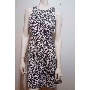 🆕 H&M Leopard Print Dress Size Medium